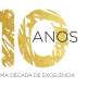 logótipo de comemoração dos dez anos da Associação Integralar - PortugalFoods