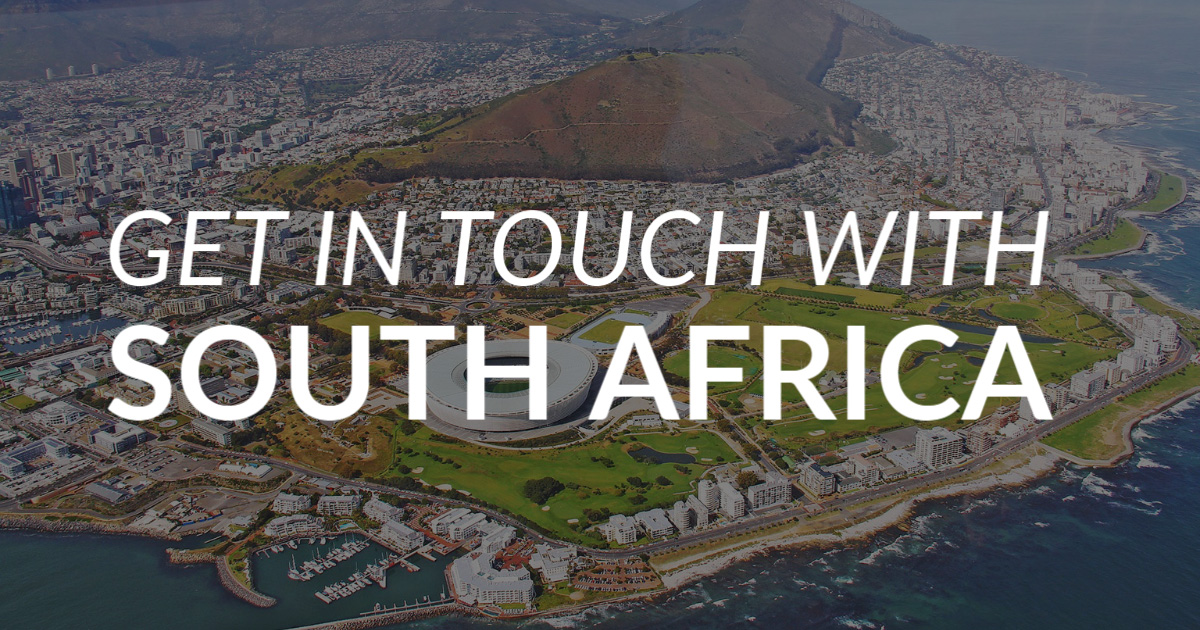 Get in Touch with South Africa