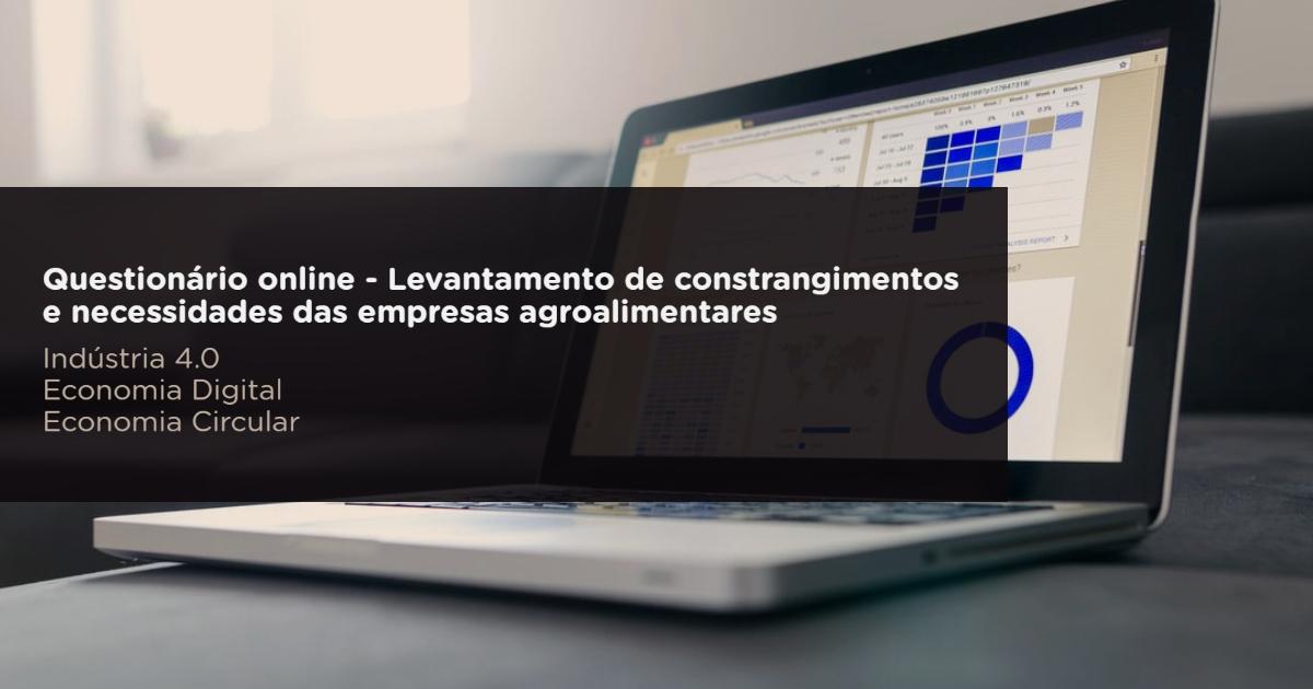 Questionário sobre constrangimentos e necessidades das empresas agroalimentares