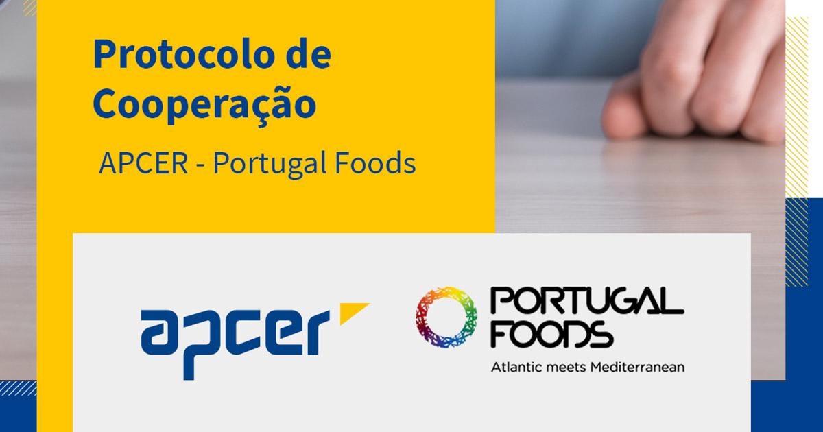 protocolo entre APCER e PortugalFoods